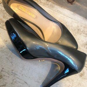 PRADA ..... patent heels